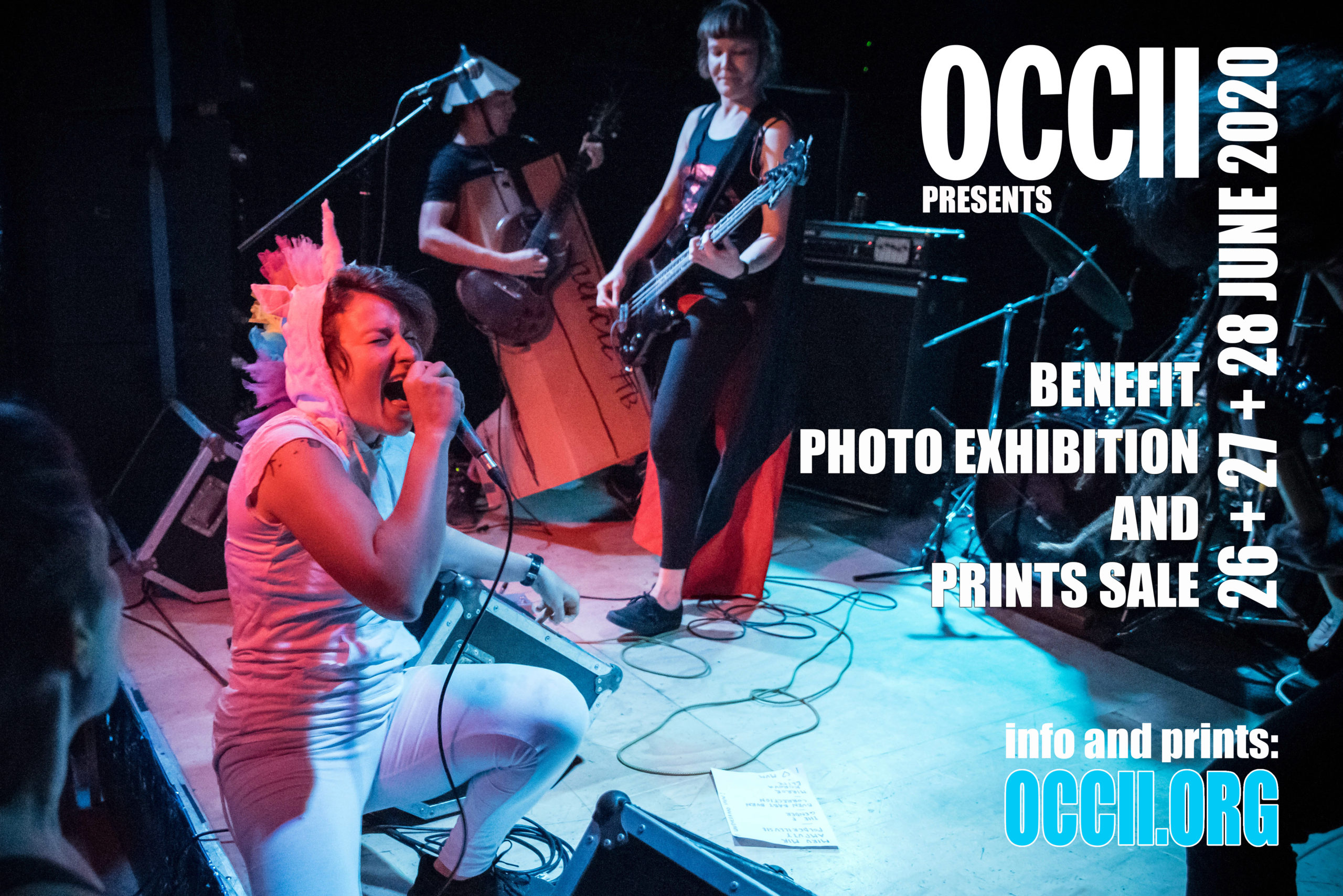 Benefit Exhibition and Print Sale at the OCCII